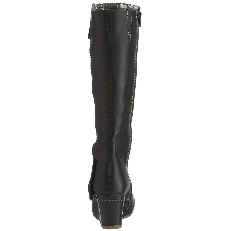 08bdaf32366 Fly London Women s Doris Wedge Boot Black Grey P140569008 7 UK   Amazon.co.uk  Shoes   Bags