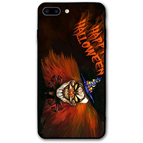 Happy Index Happy Halloween Friday Night iPhone 7 Plus Case/iPhone 8 Plus Case Soft TPU Shell Shock-Absorption Bumper Anti-Scratch Case Enhanced Grip Protective Defender Cover ()