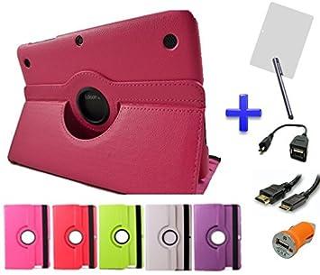 Pack 6 en 1 Funda Especial Giratoria 360º para Tablet Bq ...