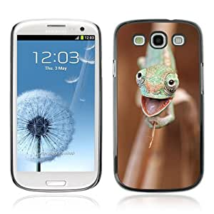 YOYOSHOP [Funny Happy Chameleon] Samsung Galaxy S3 Case by mcsharks