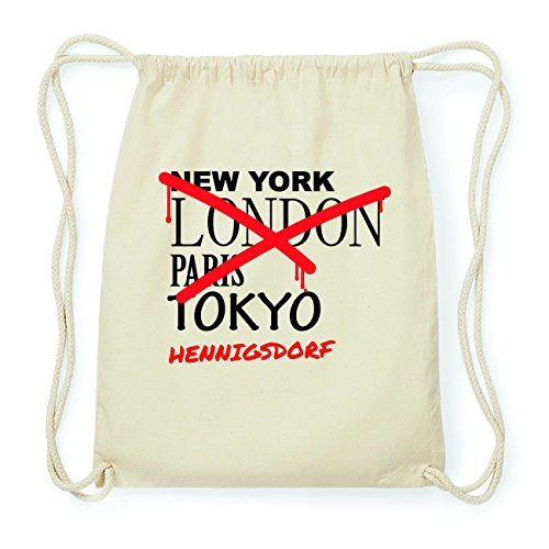 JOllify HENNIGSDORF Hipster Turnbeutel Tasche Rucksack aus Baumwolle - Farbe: natur Design: Grafitti O39RCB1v