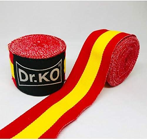 4,5 Metros MMA Cinta EL/ÁSTICA Mano MU/ÑECA MMA Bandera ESPA/ÑA KO Vendas Boxeo Dr Muay Thai Kick Boxing