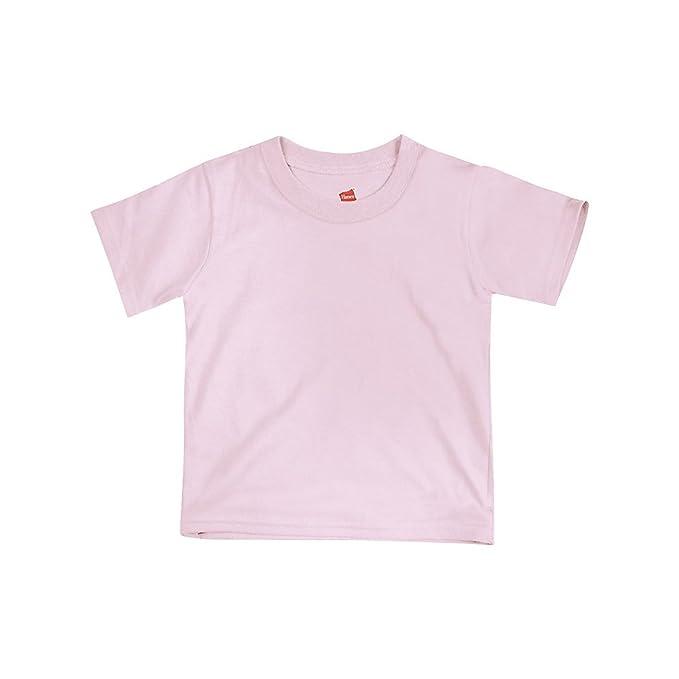 Amazon.com: Hanes - Camiseta de cuello redondo para bebé ...