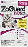 Product review for ZoGuard Plus - Cat (over 1.5 lbs) (3 dose) flea tick lice flea eggs larvae kills prevent. Better than spray powder collar