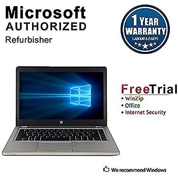 HP EliteBook Folio 9470M 14in Intel Core i5-3427U 1.8GHz 8GB 180GB SSD Windows 10 Pro (Renewed)
