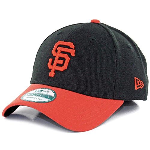 San Francisco Giants Mlb Baseball (New Era MLB SAN Francisco Giants ALT The League 9FORTY Adjustable Cap, One Size, Black)