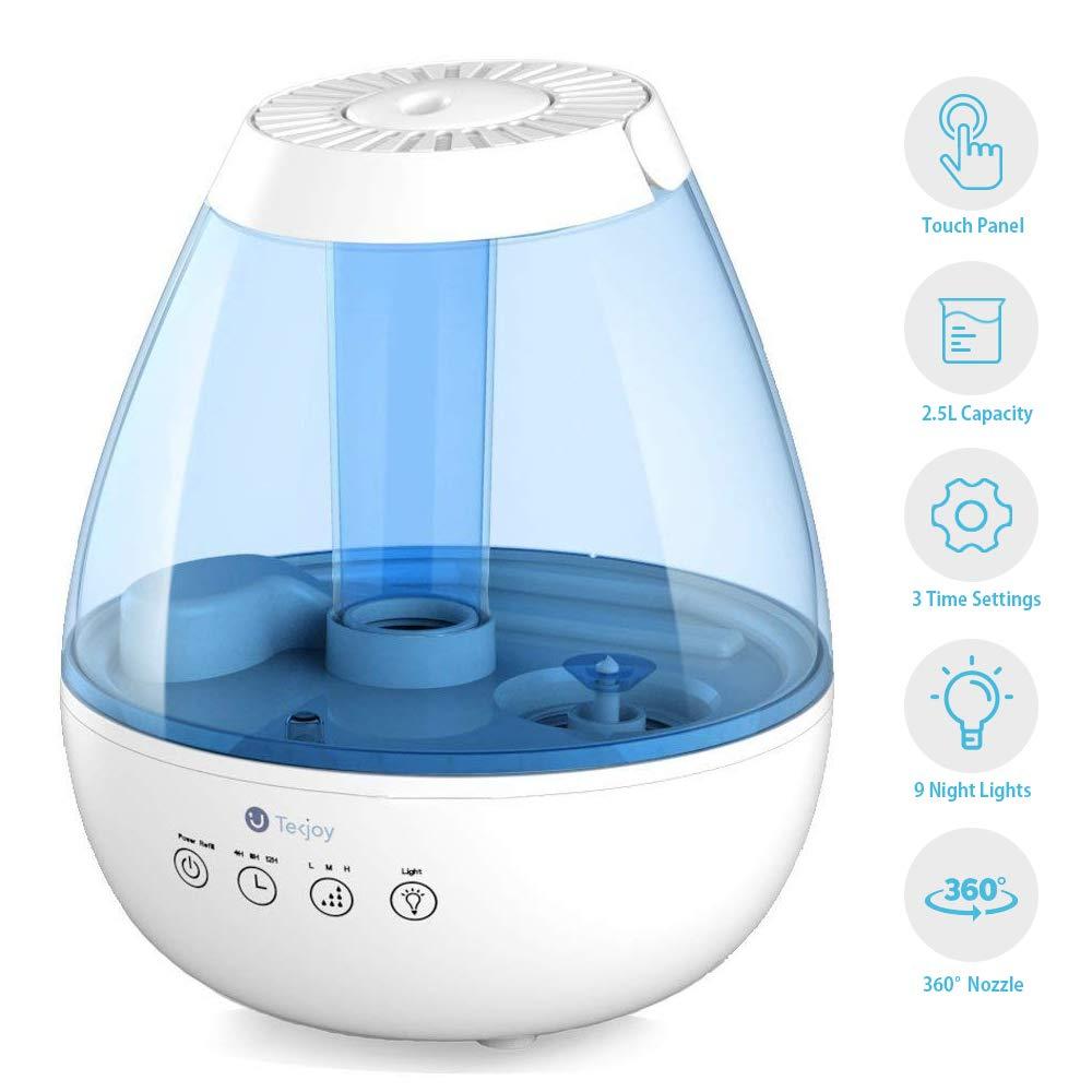 Cool Mist Humidifiers Premium Ultrasonic Air Humidifier