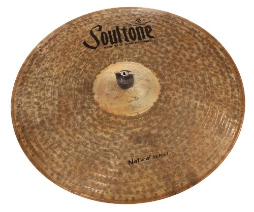 "Soultone Cymbals NTR-CRR21-21"" Natural Crash Ride from Soultone Cymbals"