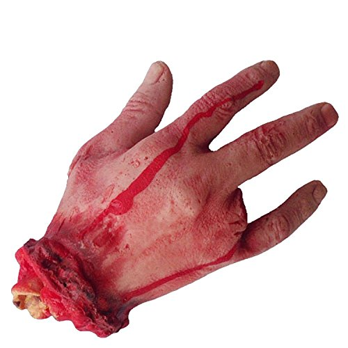 Deadwood Halloween Costumes (Sinastar Tricky Toy Horr Halloween Haunted House Supplies Limb Broken Fingers Hands Feet Heart Brain)