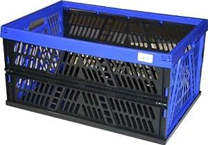 Heidrun 800021-3 - Juego de cajas de plástico plegables (3 unidades, 53,5 x 35,5 x 27 cm)