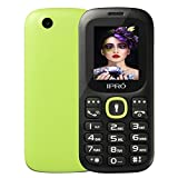 Mini Cell Phone with Keyboard,IPRO Factory Unlocked Dual SIM Cellphone 2G GSM No Contract Budget Phone Backup Phones with Camera/Flashlight/SD Card Slot for Kids/Elderly
