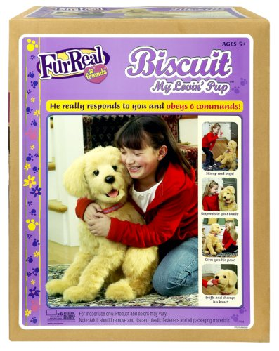 Hasbro Fur Real Friends Biscuit My Lovin Pup Buy Online