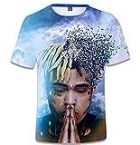 SERAPHY Unisexe 3D Printed Summer T-Shirt Xxxtentacion Boys Hip-hop Top Shirt Q0770 M