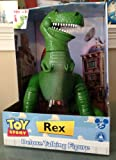 """Disney Parks Exclusive Toy Story Talking Rex Dinosaur 15"""" Action Figure Doll"""