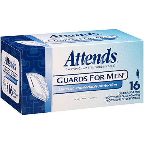Attends Male Guard for Adult Incontinence Care ,  16 Count (Pack of (Attends Pull)