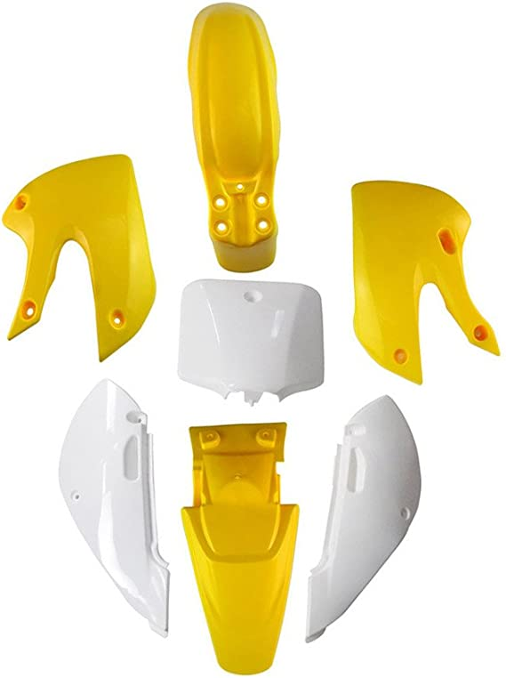 KAWASAKI KLX 110 DRZ 110 KX 65 Plastic Fairing Kits Pit Dirt Bike Fits: KLX110