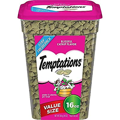 TEMPTATIONS Classic Treats for Cats 16-ounce Tubs