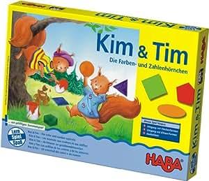 Haba 4618 Kim & Tim - Juego educativo para aprender colores y números (en alemán)
