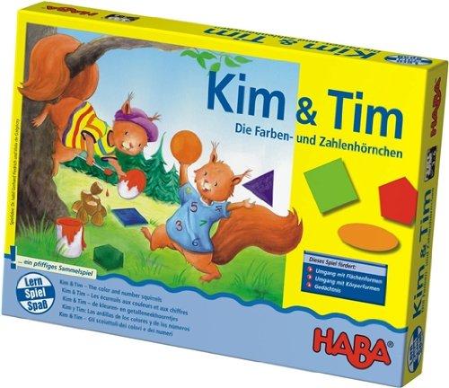Haba 4618 Kim & Tim Farben- & Zahlenh�rnchen