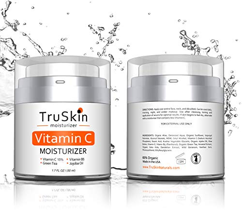 514zNmiLkIL - BEST Vitamin C Moisturizer Cream for Face, Neck & Décolleté for Anti-Aging, Wrinkles, Age Spots, Skin Tone, Firming, and Dark Circles. 1.7 Fl. Oz