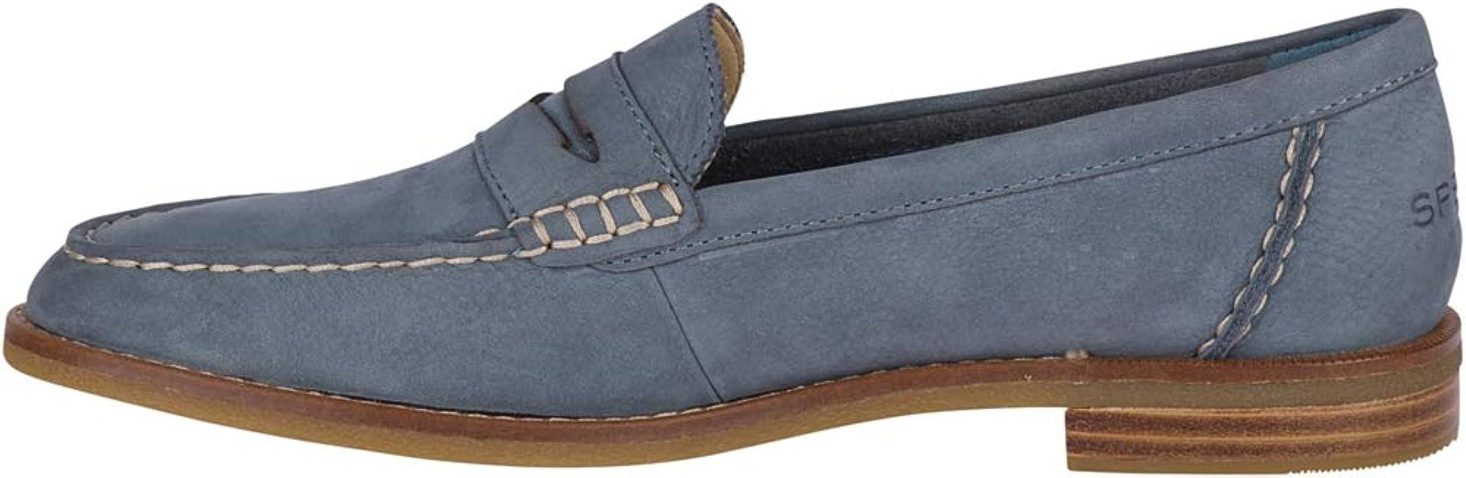 Sperry Top-Sider Seaport Penny Loafer Women 5 Slate Blue