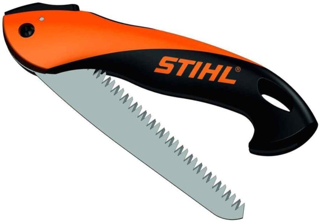 Stihl 0000 881 8700 Sierra plegable, negro y naranja