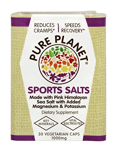Pure Planet, Sport Salts, 30 Capsules (Sport Salts)