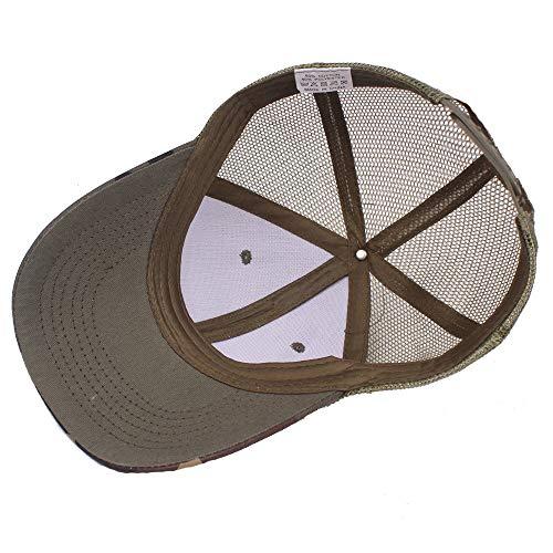 WOAIX Sombrero del papá del Snapback del Deporte al Aire Libre de ...