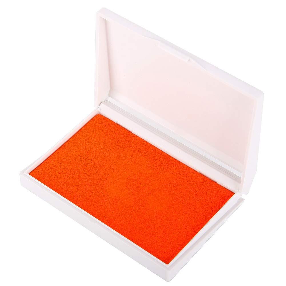 Homeofying Newborn Baby Reusable Safe Craft Non-Toxic Handprint Footprint Inkpad Toddlers Keepsake Ornament Kit,Non-Toxic Ink Pink