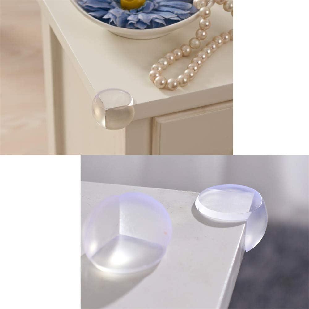 Transparent Protecteur de Coin Meubles Protege Coin de Table,GOGOGO 12pcs//Set B/éb/é Protecteurs Dangles Anti-Crash Protecteurs pour Enfants