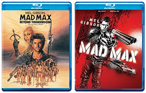 Mad Max + Beyond the Thunderdome Blu Ray Pack Movie Action set 35th Anniversary Mel Gibson