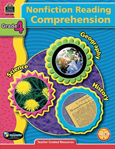 Nonfiction Reading Comprehension Grade 4: Grade 4 : Geography, Science, History ()
