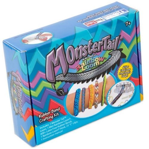 Rainbow Loom Monster Tail Bracelet Making Kit Girls Accessories -