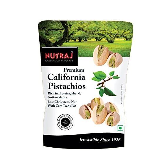 Nutraj California Roasted & Salted Pistachios, 250g