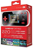 My Arcade Gamer V Portable - Handheld Game Console with 220 Built-In Games (Red/Black)