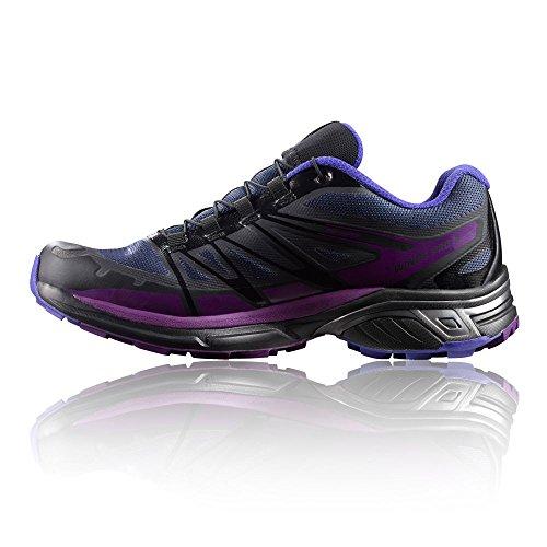 Salomon Ailes Pro 2 de Chaussures de course pour femmes GTX Bleu