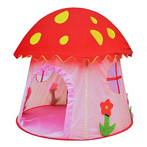 Princess Mushroom Playhouse Children Tent Game Room Baby Out