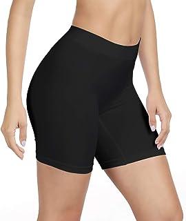 SIHOHAN Damen Unterhosen, Lange Frauen Panties, hohe Taille und Bequem, 1er Pack