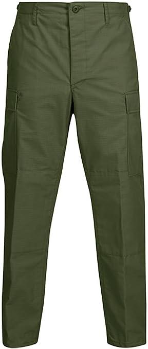 show original title Details about  /US Propper Army Bdu Trousers Pants Field Pants Outdoor Trousers Khaki MS MEDIUM SHORT