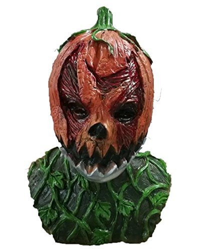 Jeeper Creeper Costume (Rubber Johnnies Pumpkin Head Mask With Moving Mouth ,Halloween , Horror , Adult)