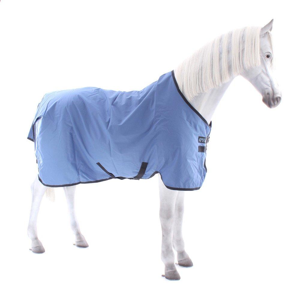 Horseware Amigo Hero 6 Turnout lite 100g - Colony Blue