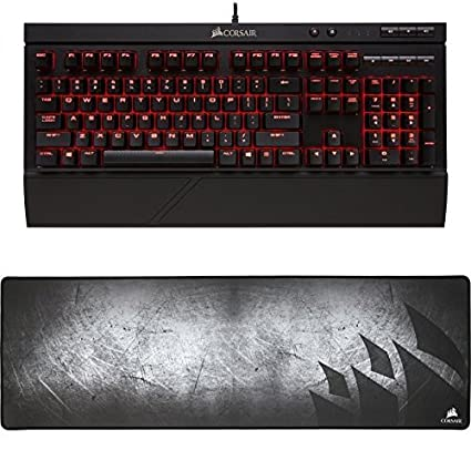 536b94f5517 CORSAIR K68 Mechanical Gaming Keyboard, Backlit LED, Dust and Spill  Resistant - Linear &