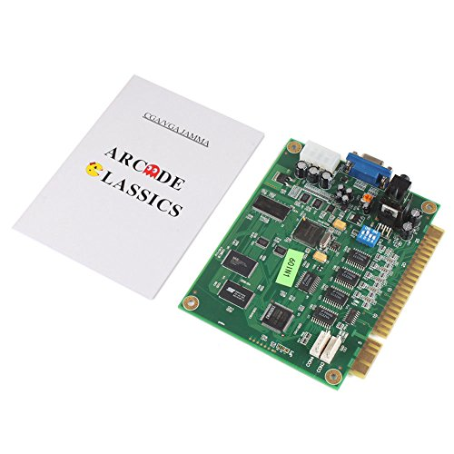 F-ber Hot Classical Arcade Video Game 60 in 1 PCB Jamma Board CGA VGA  Output for JAMMA Arcade Cabinet AC708 w/ box
