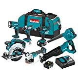 Makita XT706 3.0Ah 18V LXT Lithium-Ion Cordless Combo Kit (7 Piece) For Sale