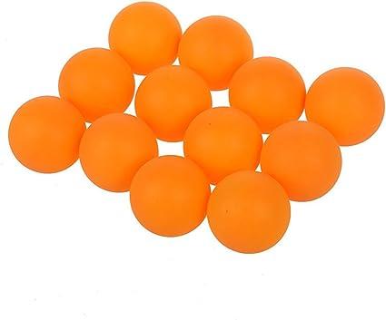 38 mm double cercle de 3 étoiles de Ping Pong Balls orange une douzaine
