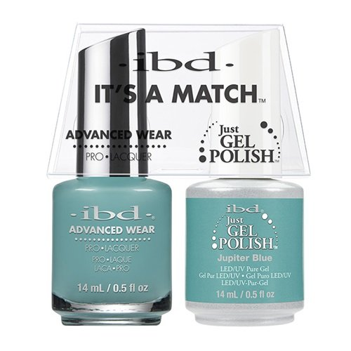 ibd Advanced Wear Color Duo Jupiter Blue #549 UV Gel Color