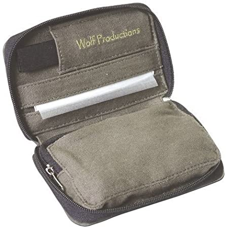 Bolsa de tabaco para Liar Kit Gris Wolf Productions Hanf: Amazon.es: Hogar