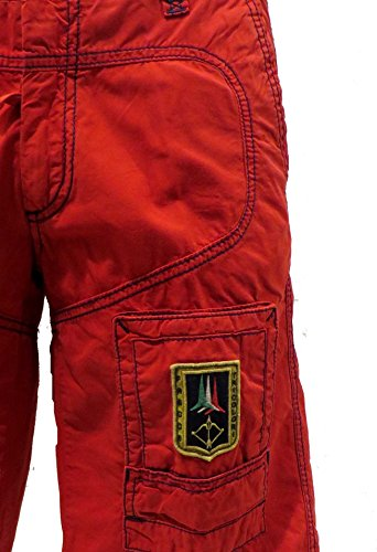 Shorts Hombre Red Be041ct Bermudas Pantalones Polo Militare Aeronautica pRqHXX