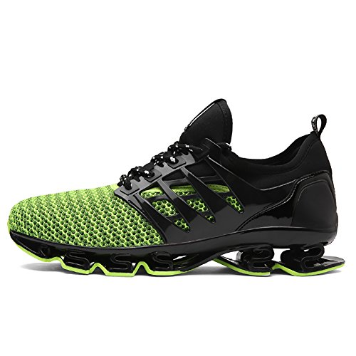 Tennis Jogging 66 Shoes Mesh Men's Sneakers Women's Breathable Running Green Athletic No Town qzwAdXA