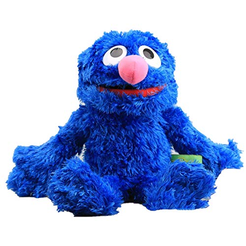 SJSXT Plush Hand Puppet Toy Dolls Elmo Cookie Monster Ernie Big Bird Grover Stuffed Dolls Kids Educational Toys